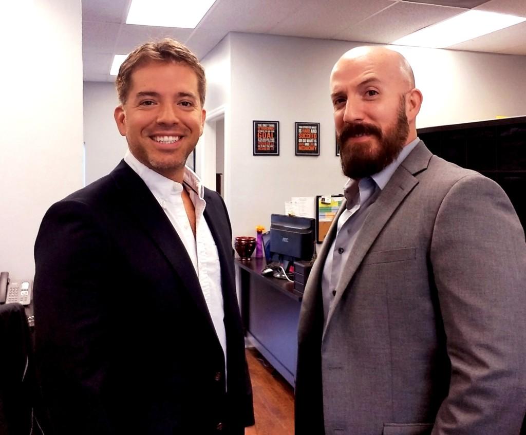 Michael and David Ligon of the Ligon Cash Home Buyers. Real Estate Investors.